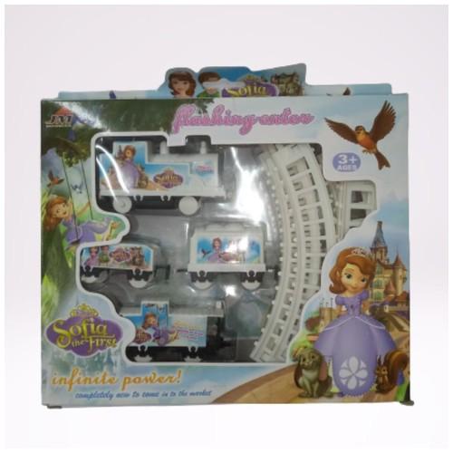 Maianan Anak Kereta Mini - Gambar Princess