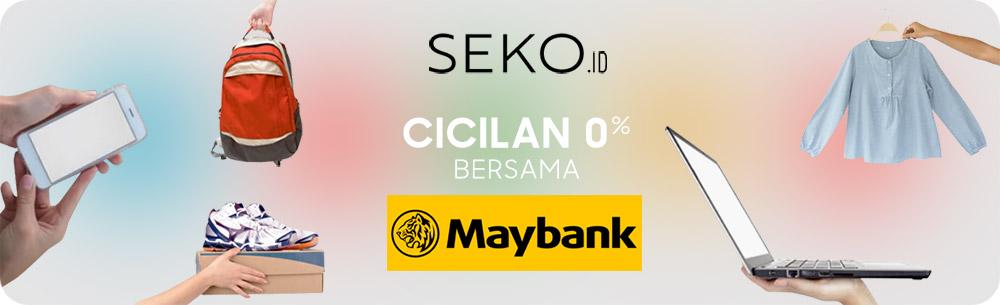 Maybank Cicilan 0% - SEKO.id